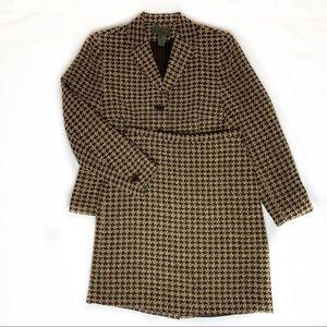 Vintage Houndstooth Skirt Suit